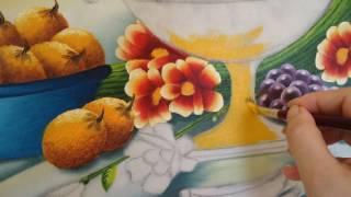 Angela Almeida - Artista Plástica - Pintura em tela - Natureza Morta - Passo a Passo