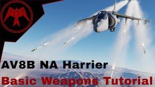 DCS AV-8B Harrier Basic Weapons tutorial