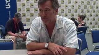 Bruce Campbell Interview - TVaholic.com at Comic Con 2009