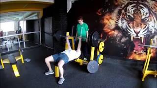 Жим лёжа узким хватом, 100 кг. / Функциональный бодибилдинг