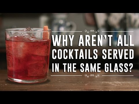 Why Cocktails Are Served In Different Sizes And Shapes Of Glasses