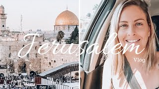 Jerusalem Travel Vlog: Holy City Tour! | Israel Part 3