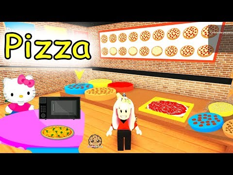 Cashier Work At A Pizza Place Restaurant Roblox Lets Play Online