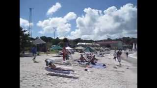 preview picture of video 'Antigua-Long Bay 13.01.2010 Antigua&Barbuda'