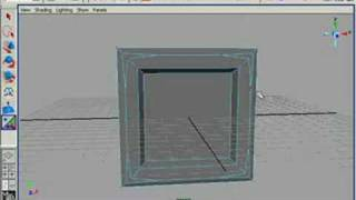 preview picture of video 'How to create simple window with Maya architectural tools'