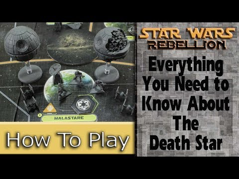 The Death Star: How to Play Star Wars: Rebellion