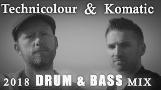 Best Of: Technicolour & Komatic | Drum And Bass Mix