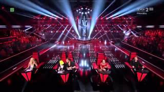 The Voice of Poland IV - Top 5 voices (przesłuchania w ciemno)