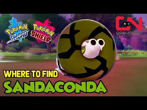 Where to find Sandaconda - Pokemon Sword and Shield Wild Sandaconda Location