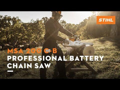 Stihl MSA 200 C-B in Jesup, Georgia - Video 1