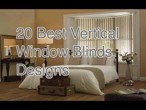 20 Best Vertical Window Blinds Designs