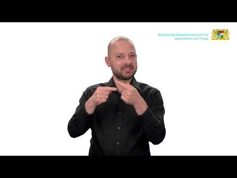 Häufige Fragen zum Mund-Nasen-Schutz – Teil 4 – in Deutscher Gebärdensprache