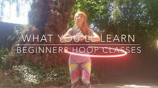4 Week Beginners Hula Hoop Course: What You'll Learn
