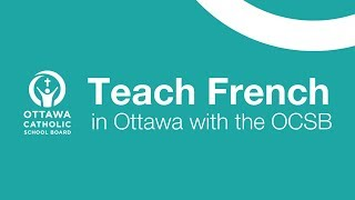 Teach French at the OCSB