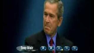 Bush Blair Play The Weakest Link