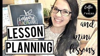 How I Lesson Plan  /  Math Mini Lesson Layout  /  The Balanced Teacher Series