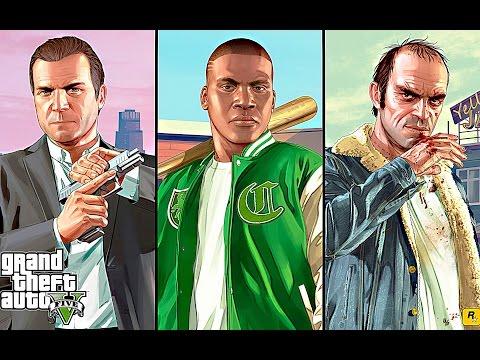 Grand Theft Auto V PS4 Full Gameplay Walkthrough