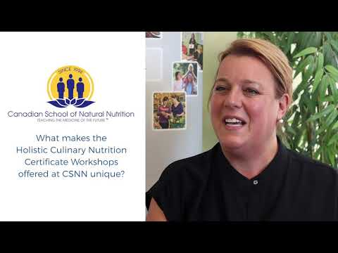 Holistic Culinary Certificate Workshops   Canadian School of Natural ...