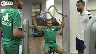 CAN 2019 – Algérie  : Décrassage pour les titulaire et entraînements pour les titulaires