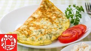 Необычный Омлет на Завтрак за 5 минут! 🍳🍳 Вкусно, Сытно и Полезно!
