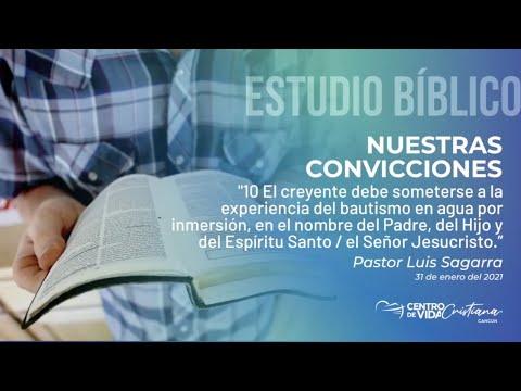 Nuestras Convicciones: 10.1 El creyente debe someterse a la experiencia de  bautismo en agua por inmersión, en el nombre del padre del Hijo y del Espíritu Santo / El Señor Jesucristo | Centro de Vida Cristiana