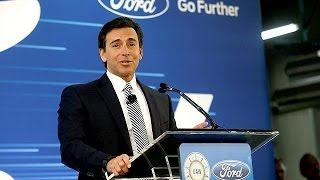 Ford changes gear, ousts CEO - economy