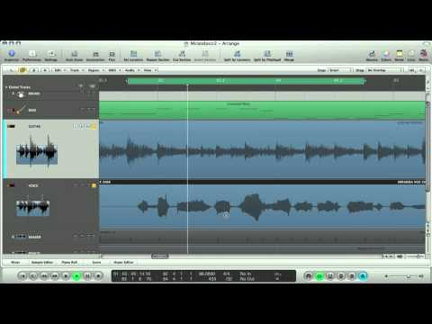 Apple Logic Tutorial – Fix pitch & timing of your Vox and Guitars