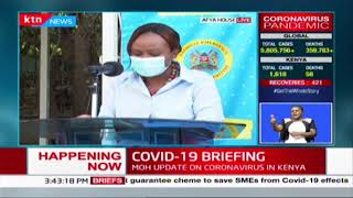 CS Mwangangi on people using \'panya\' routes to sneak in and out of various counties