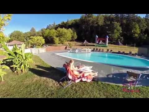 Vidéo aérienne du camping Le Val de la Marquise
