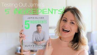 TESTING OUT JAMIE OLIVERS 5 INGREDIENTS | Quick & Easy Food