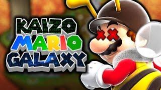 KAIZO Mario Galaxy - Episode 2 - How can this bee?!
