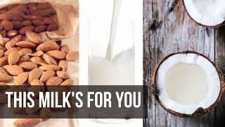 Ketosis Dairy Alternatives: Best Nut Milks- Thomas DeLauer