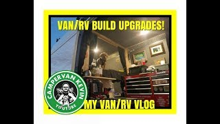 Pay No Attention To The Man Behind The Curtain! Van/RV Upgrades!