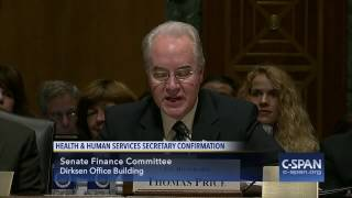 HHS Secretary Nominee Rep. Tom Price Opening Statement (C-SPAN)