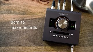 Born to make records. Meet the new Apollo Twin MkII.