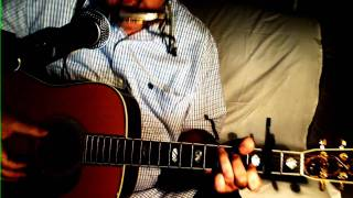 Green Green Grass Of Home ~ Johnny Darrell - Tom Jones ~ Acoustic Cover w/ Martin D-45 & Bluesharp