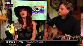 """Jessica Sutta Performs """"Daddy's Girl"""" on AXS Live"""