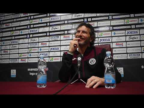 Verso Entella-Arezzo. La conferenza di mr Dal Canto