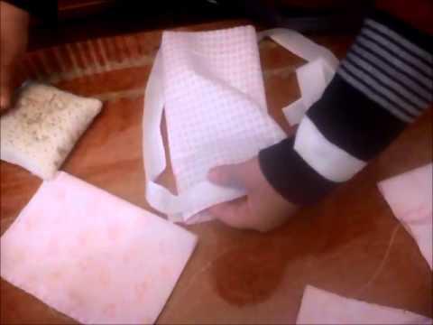 Como hacer fundas para biberones, chupetes,toallitas....