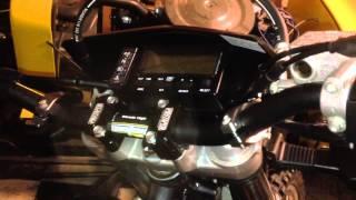 $18 PowerMadd Mirrors for Dual Sport bikes DRZ400 - hmong video