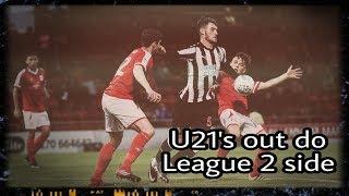 Review | Crewe 1-2 Newcastle United U21