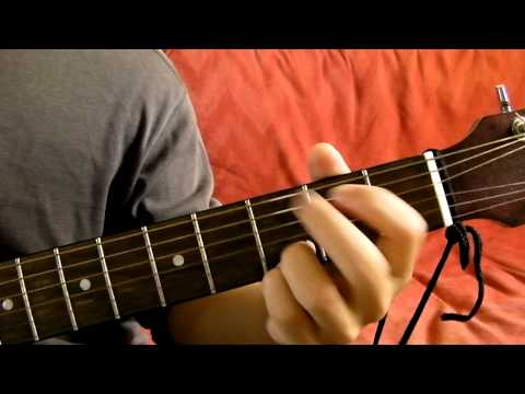 D A Bm G Guitar Chord Progression Demonstration