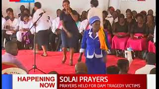 HAPPENING NOW: Solai interdenominational prayers in Nakuru
