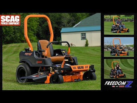 2021 SCAG Power Equipment Freedom Z 52 in. Kohler 26 hp in Francis Creek, Wisconsin - Video 1