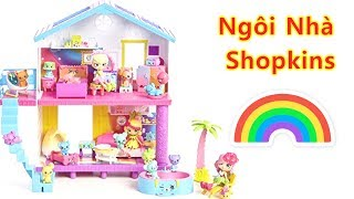 Đồ Chơi Trẻ Em - Ngôi Nhà Shopkins - Bốn Chị Em Búp Bê Chibi Về Nhà Mới - chị bí đỏ