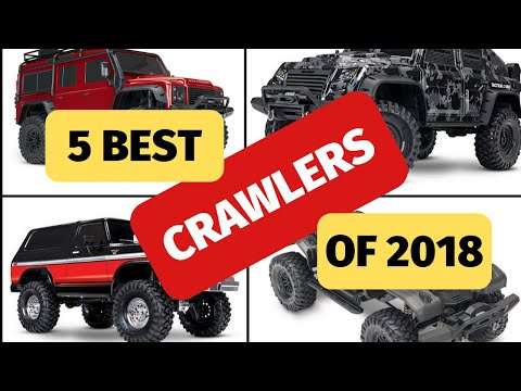 5 Best RC Rock Crawlers Of 2018