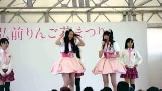 りんご娘ハプニング私の話聞いてます?!byとき青森県弘前市ご当地アイドル