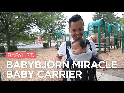 BabyBjorn Miracle Baby Carrier Review
