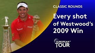 Every Shot Of Lee Westwoods 2009 Dubai Win   Classic Round Highlights