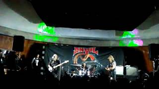 Anvil - Free as the wind - Quito